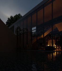 Tadao Ando, Monterrey 3D lighting studio