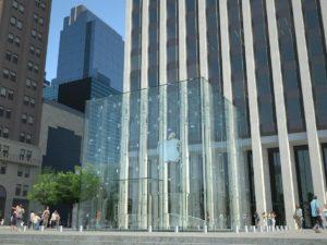 Apple store, NY